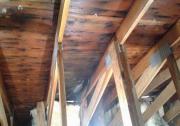 Eaves of attic