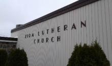 Outside View Of The Zion Lutheran Church