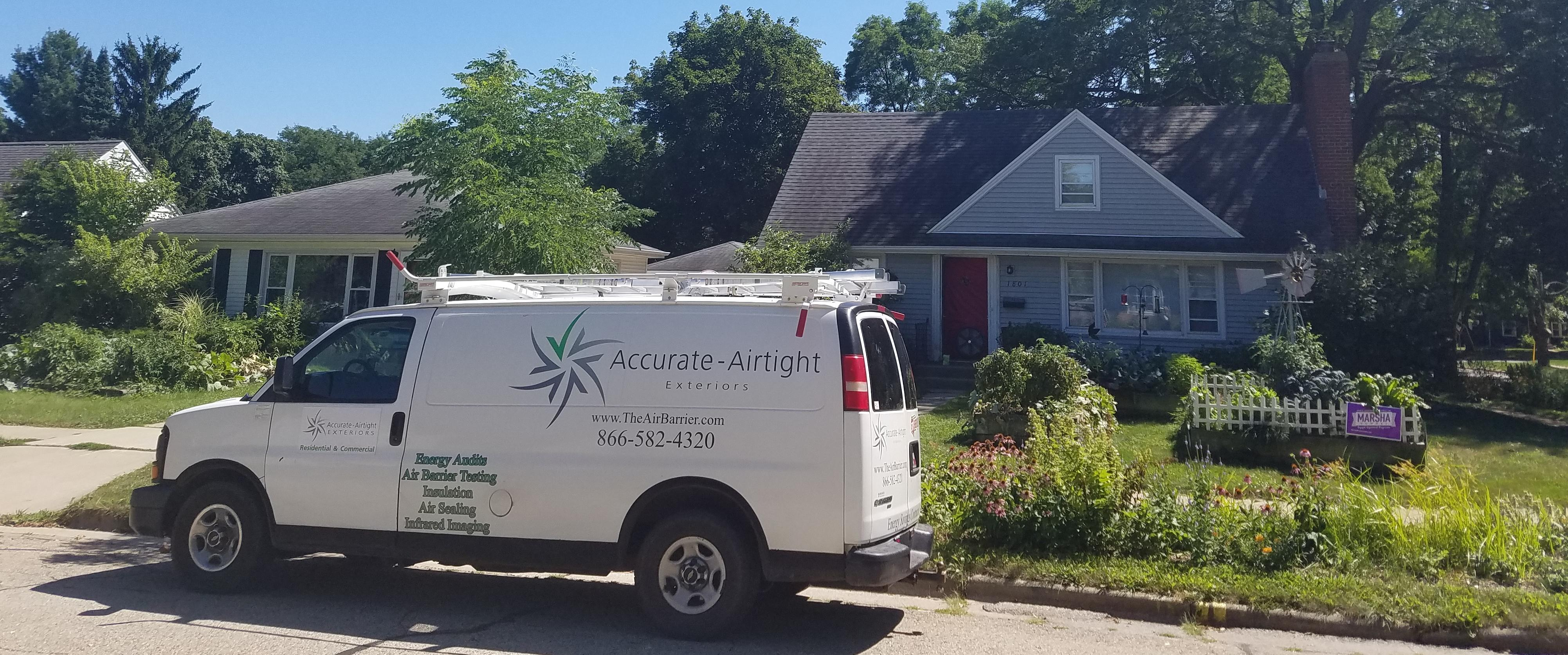 Accurate-Airtight Exteriors Vehicle Parked In Front Of Beautiful Suburban Homes